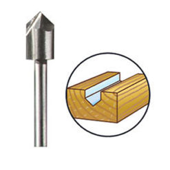 DREMEL Router Bit (HSS) 6,4 mm (640)