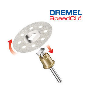DREMEL EZ SpeedClic™: Diamond Cutting Wheel. (SC545)