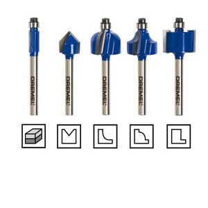 DREMEL TRIO Router Bit Set (TR675)