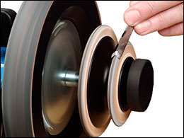 Profiled Leather Honing Wheel