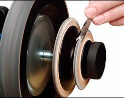Leather Honing Wheel 145 x 26 mm