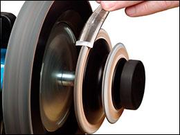 Leather Honing Wheel 220 x 31 mm