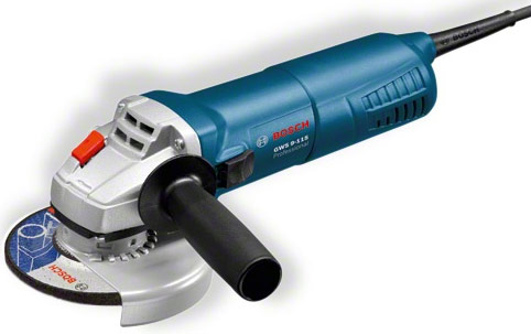 bosch angle grinder gws 9 115 professional. Black Bedroom Furniture Sets. Home Design Ideas