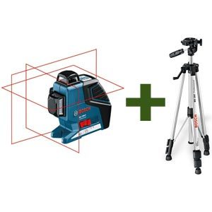 BOSCH GLL 3-80 Line Laser Level and Tripod