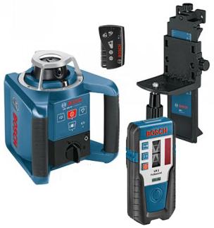 BOSCH GRL 300 HV Rotary Laser Set