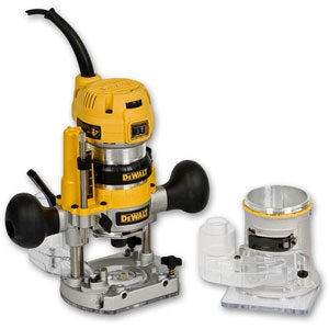 "DeWalt D26204K-QS  Router Combination 1/4"" Collet 900W"