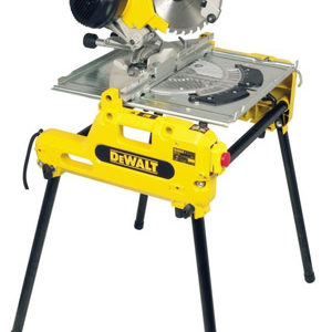 DeWalt DW743N-GB Combination Flip-Over Saw- 2000W
