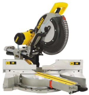 DeWalt DWS780-GB 305mm Double Bevel Sliding Mitre Saw 1675W