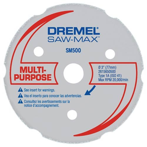 DREMEL DSM20 Multipurpose Carbide Cutting Wheel (DSM500)