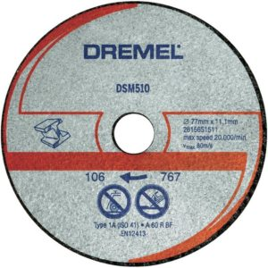 DREMEL DSM20 Metal and Plastic Cutting Wheel (DSM510)