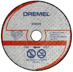 DREMEL DSM20 Masonry Cutting Wheel (DSM520)