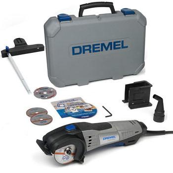 DREMEL DSM20 Saw-Max (DSM20-3/4) + 3 Cutting Discs