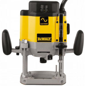 "DeWalt DW625E-QS Router Electronic Speed Control 1/2"" Collet 2000W"