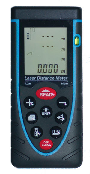 Top-Shot FL100 Laser Distance Measurer