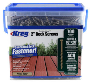Kreg SDK-C2W-700 Protec-Kote Deck Screws -2""