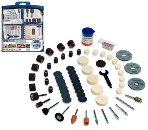 DREMEL 100 Piece Multipurpose Modular Accessory Set (723)