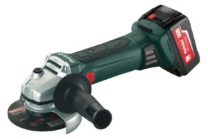 METABO 602174650 W 18 LTX 125 QUICK CORDLESS ANGLE GRINDER