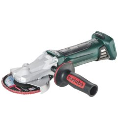 METABO 601306890 WF 18 LTX 125 QUICK CORDLESS FLAT HEAD GRINDER