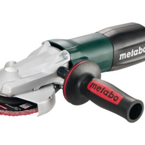 METABO 613060000 WEF 9-125 QUICK FLAT-HEAD ANGLE GRINDER