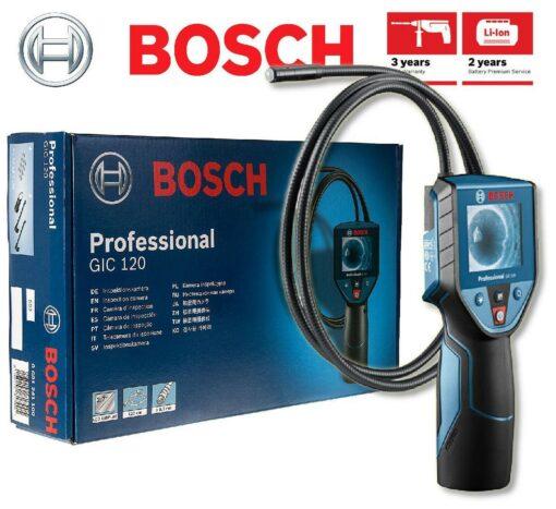 BOSCH GIC 120 Cordless Inspection Camera Professional