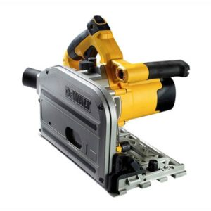 DWS520KR-GB DeWalt DWS520KR-GB Plunge Saw 165mm 1300W + 1.5m Guide Rail
