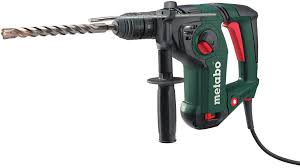 METABO KHA18 LTX 18V Cordless Lithium-Ion Brushless 1 in. SDS-Plus Combination Rotary Hammer (600210890)