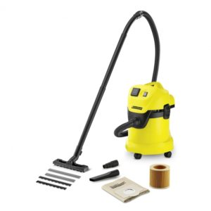 KARCHER WD3 P 1000W 17LTR WET & DRY VACUUM CLEANER 240V