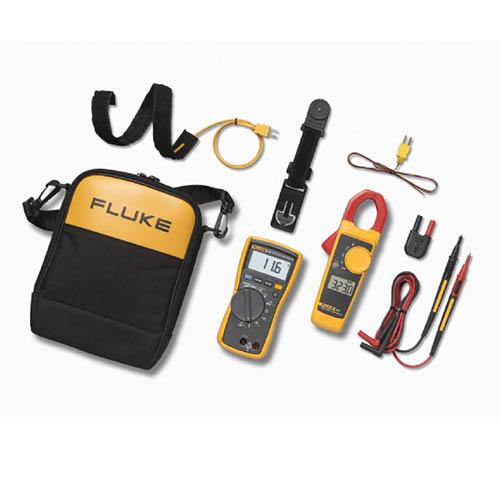 Fluke 116/323 Kit HVAC True RMS Multimeter and Clamp Meter Combo Kit