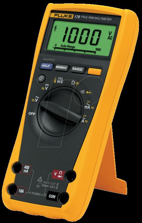 Fluke 179 EGFID , TRMS Multimeter W/Backlight & Temp