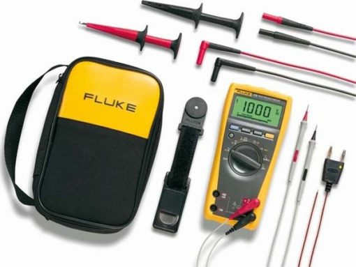 Fluke 179/EDA2 EUR , Electronics DMM and Deluxe Accessory Combo