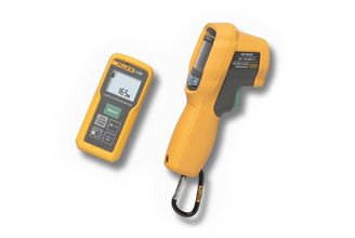 Fluke 414D/62MAX Laser Distance Meter and IR Thermometer kit
