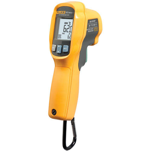 Fluke 62 Max + IR Thermometer , Double Lazer