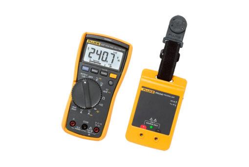Fluke 117/PRV240 Voltage ACDC , Proving Unit/ Hanging Strap 117 DMM Kit