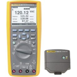 Fluke 289/IR3000FC Industrial Logging Multimeter and FC Connector
